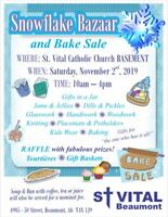 Church SNOWFLAKE BAZAAR
