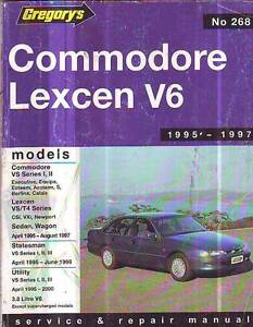 HOLDEN COMMODORE  VS  Workshop    Manual 1995-97 V6 utility -2000 Sefton Bankstown Area Preview