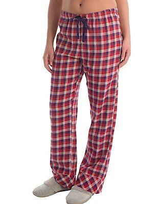 Woolrich Damen Flanell (Woolrich - Damen XL - Pemberton Rot/Lila Büffel Karierte Flanell Pyjama Hose)