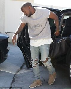 Yeezy Yeezus Tour Grey Sleeveless Shirt New with out tags!