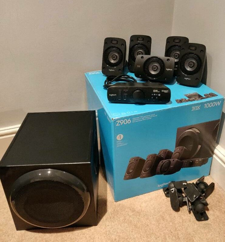 Logitech Z906 5.1 Surround Sound Speakers | in Stockport, Manchester ...