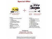 CCTV AND ALARM SPECIAL OFFER - £1050