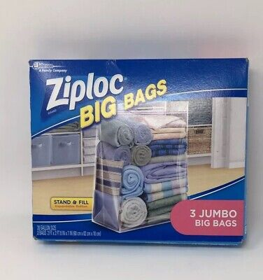 Ziploc Big Bags 3 jumbo big bags for sale  Shipping to South Africa