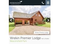 LUXURY LODGE WITH HOT TUB 4 NIGHTS £320 ORIGINAL PRICE £570