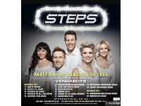2x Steps & Vengaboys Platinum Tickets Leeds