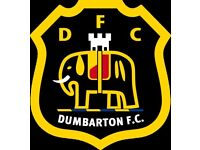 Dumbarton Supporters football team looking for players in all positions.