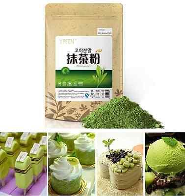 100G YPFEN Matcha Powder Green Tea Pure Organic Certified Natural Premium Loose