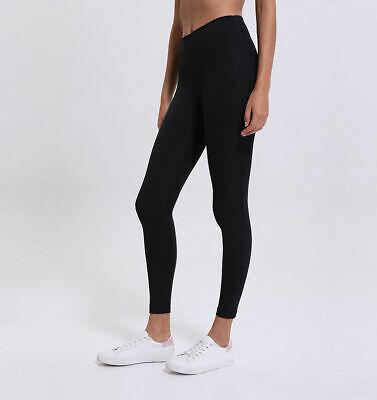 "ALIGN crop PANTS   25""   lululemon black  leggings usaw6/uk10 small free shippin"