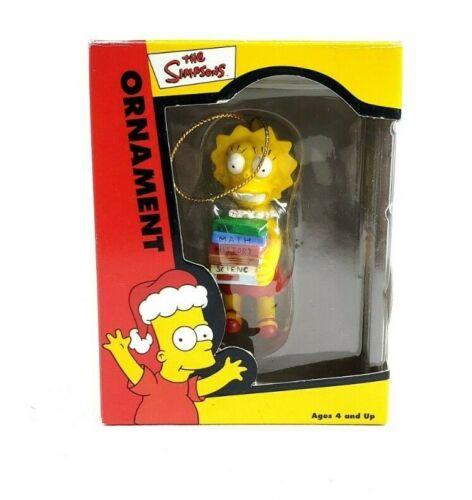 Lisa Simpson Bookworm The Simpsons Christmas Ornament
