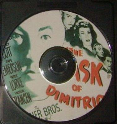 FILM NOIR 081: THE MASK OF DIMITRIOS 1944 Negulesco, Greenstreet, Scott, Lorre