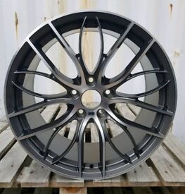 NEW 20'' BMW M PERFORMANCE 405 STYLE ALLOY WHEELS X4 BOXED 5X120 E90 E92 F30 F10 COUPE SALOON