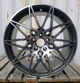 NEW 20'' COMPETITION M PACK ALLOY WHEELS 666 5x120 E92 F30 F10 COUPE SALOON 3 4 5 6