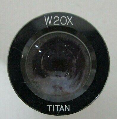 Titan W20x Microscope Eyepiece O.d. 23mm