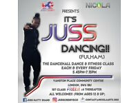 FREE DANCEHALL DANCE AND FITNESS CLASSES (EVERY FRIDAY)