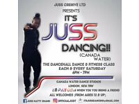 Dancehall dance and fitness class
