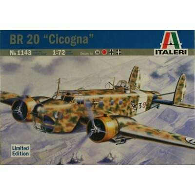 Italeri 1143 1/72 BR 20 Cicogna Limited Edition model kit Pre-owned