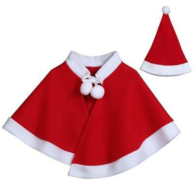 Kids Childrens' Christmas Costume Cosplay Cape Cloak for Baby Boys Girls Clothes](Christmas Clothing For Kids)