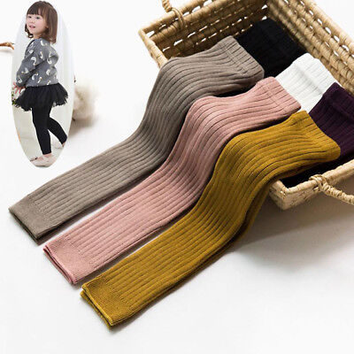 Pantyhose Tights Stockings Warm Cotton Solid Socks for Baby Girls Toddler Kids](Stockings For Girls)