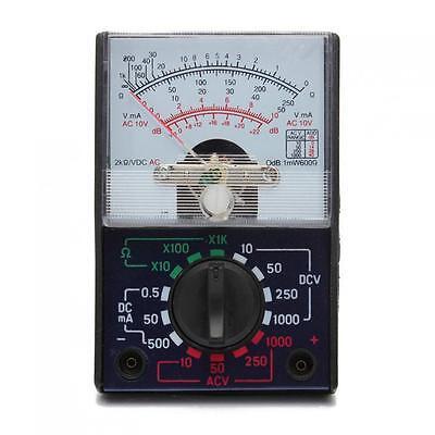 Mf-110a Electric Acdc 1000v 250ma Ohm Voltmeter Ammeter Meter Analog Multimeter