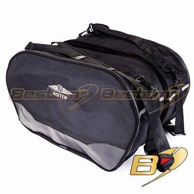 Honda Gold Wing GL1800 2012 + Saddlebag Side Case Trunk Liner Liners Bag , Black