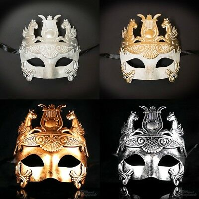 Men's Masquerade Mask, Roman Hercules Masquerade Ball Mask, Mask for Men