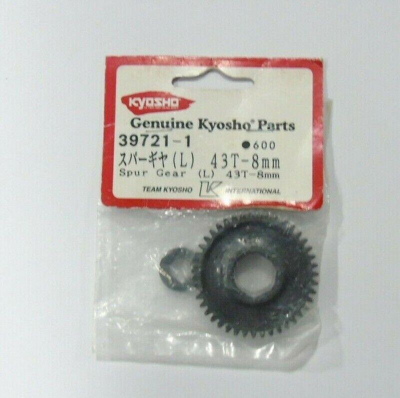 Car Parts - 39721-1 Kyosho R/C Car Spare Parts/Accessories Spur Gear (L) 43T-8mm New