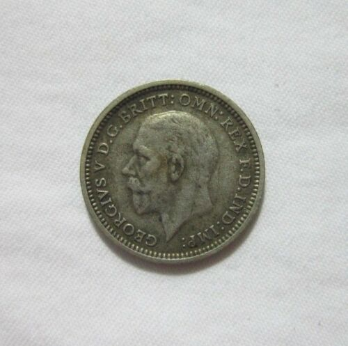 GREAT BRITAIN. SILVER 3 PENCE, 1935. KING GEORGE V.