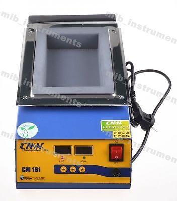 Cm161 Lead-free Titanium Alloy Soldering Pot Solder Melting Pot 1000w 220v
