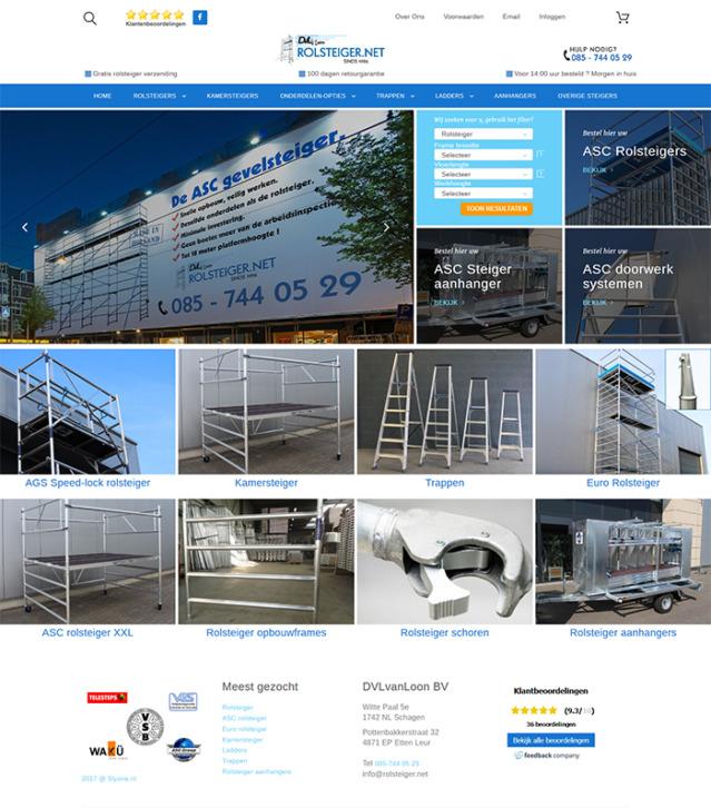 Nieuwe website - SEO SPECIALIST WEBDESIGN