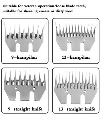 Steel Sheep Shearing Cutter Comb Blades Hair Clippers Goat Wool Supplies Scissor