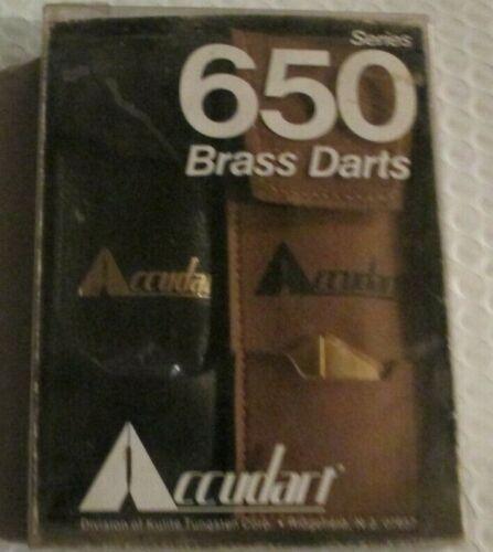 Accudart 650 Brass Darts