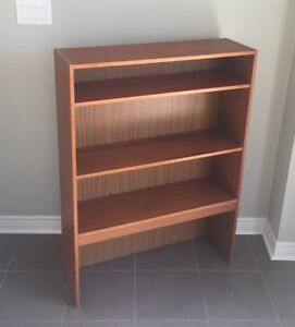 RETRO TEAK MID CENTURY DANISH MODERN BOOKCASE BOOK SHELF