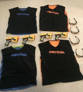 Nerf set for 4 players