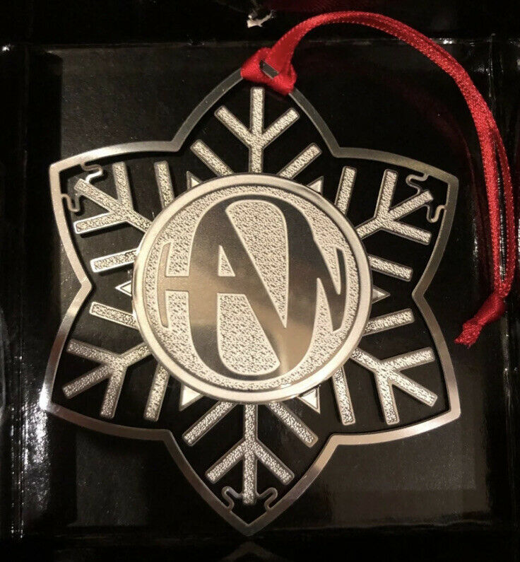 Hanson Band Symbol Official Christmas Snowflake Ornament Snowed In