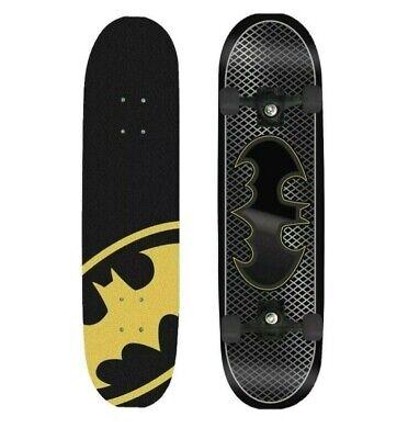 "DC Comics Kids Batman Bat Skateboard Maple Deck Complete 31"" x 8"" Youth Sports"