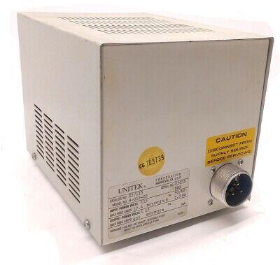 Unitek 9-015-02 Unipulse Welding Transformer Input Power 115v Output Power 3.15v