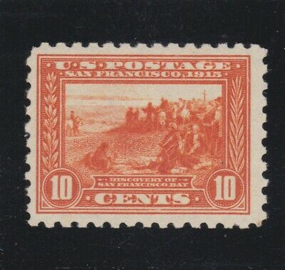 US 404 10c Panama Pacific Mint VF OG LH SCV $650