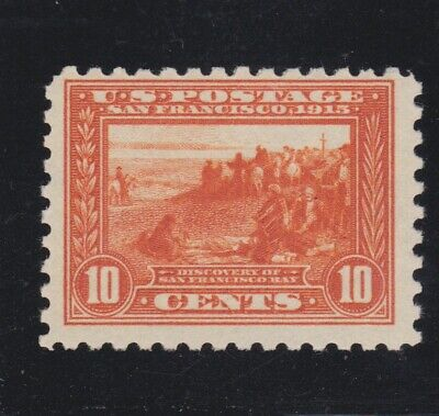US 404 10c Panama Pacific Mint F-VF OG VVLH SCV $650