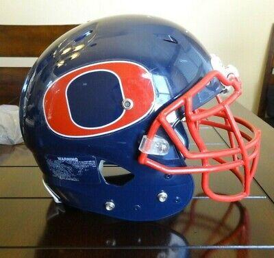 Schutt ADULT Football Helmet 2013 VENGEANCE Tampa Bay BUCCANEERS Pewter Game New