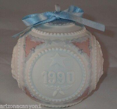 LLadro Christmas Ball 1990 #5730 Keepsake & Ornament New in Box