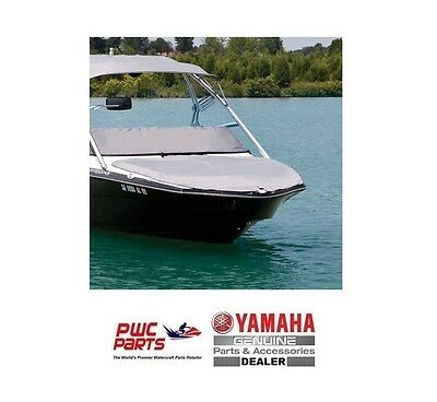 YAMAHA OEM Boat Bow Cover MAR-242BC-SL-NS 2015-17 242 Ltd/Ltd S Gray (No Snaps)