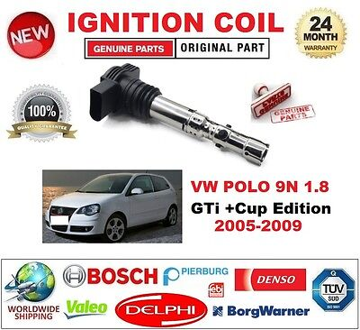 VW Polo 9N 1.2 Genuine MANN Engine Air Filter Service Replacement