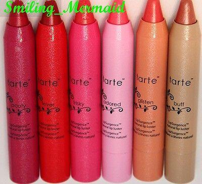 TARTE LipSurgence Lip Luster Tint Creme *BIG SHADE CHOICE* Some Boxed. ALL NEW!
