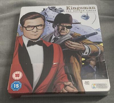 Kingsman The Golden circle Steelbook 4k UHD/BR New selaed