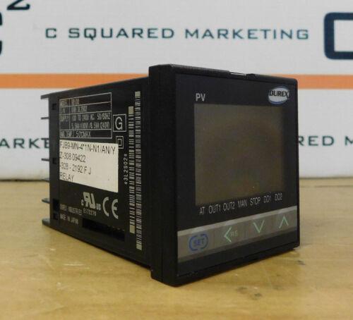 Durex Industries Rb100 Temperature Relay Controller Used Csq