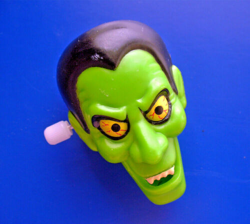 Russ PIN Halloween Vintage WIND-UP Vampire DRACULA Holiday Mechanical Movement