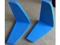 ikea mammut blue shelf / shelves