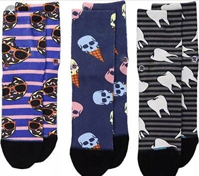 - NEW Stance Socks BABY Boy 3-6 MONTHS 3-Pack Set (CONEHEAD BOX SET)