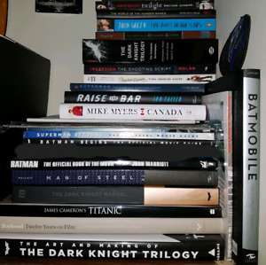 Assorted Movie/Superhero Books