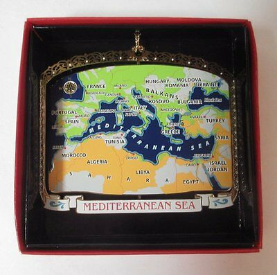 Europe Brass Ornament Mediterranean Sea Greece France Spain Limited Edition